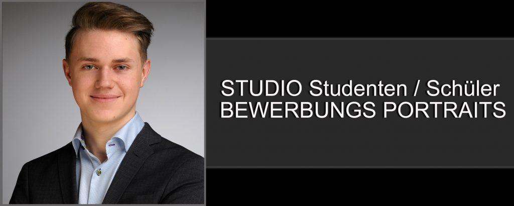 Professionelle Studio Bewerbungsportraits mit Rabatt