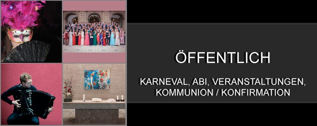 Karneval,Abi/Abschlussball,Veranstaltungen,Kommunion/Konfirmation