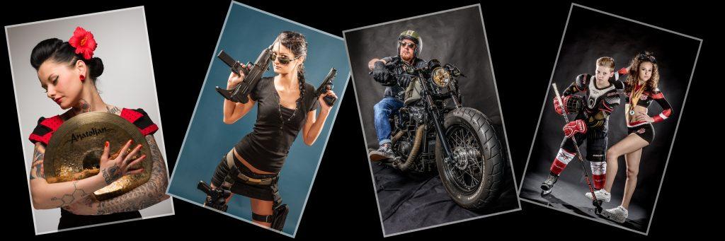 März Aktion Hobby Portrait, Dein Hobby - unsere Ideen und Umsetzungen , inkl. Leinwand 50x50cm zum Aktionspreis