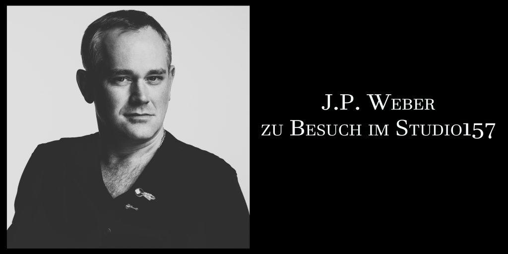 J.P. Weber zu Besuch im Studio157