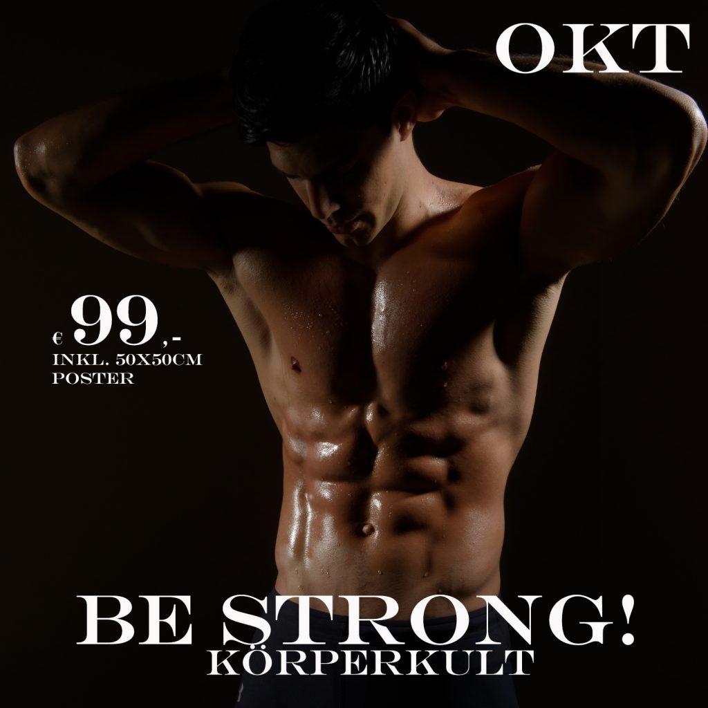 Körperkult für Durchtrainierte - Fotoportrait-Aktion - 99,-€ inkl. Poster im Oktober 2021, Studio157 - Thomas Ahrendt