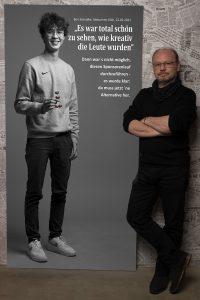 Das Portrait von Ben Schnalke zum Projekt #derstadtbestes von #thomasahrendt #studio157