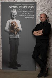 Das Portrait von Elfi Scho Antwerpes, Bürgermeisterin Köln zum Projekt #derstadtbestes von #thomasahrendt #studio157