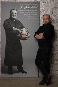 Das LeinwandPortrait von Dirk Kleber zum Projekt #derstadtbestes von #thomasahrendt #studio157