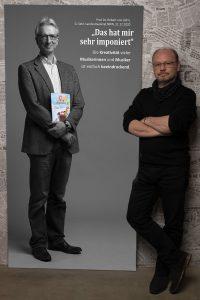 Das LeinwandPortrait von Prof. Dr. Robert von Zahn zum Projekt #derstadtbestes von #thomasahrendt #studio157