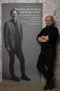 Portrait von Prof.Dr.Karl Lauterbach, MdB, zum Projekt #derstadtbestes, #thomasahrendt#studio157