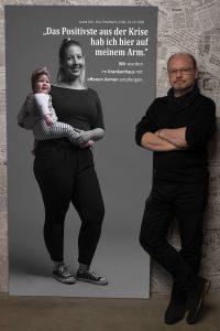 Leinwandportrait Laura Schumann, Dellbrück zu #derstadtbestes von #thomasahrendt #studio157