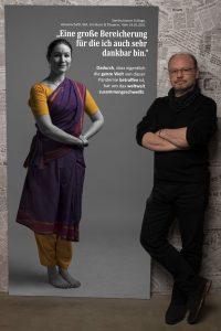 Das Portrait von Sandra Jasmin Schlage zum Projekt #derstadtbestes von #thomasahrendt #studio157