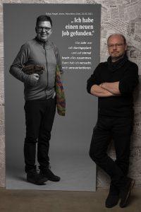 Das Portrait von Tobias Riegel zum Projekt #derstadtbestes von #thomasahrendt #studio157