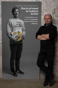 Das Portrait von Bastian Campmann zum Projekt #derstadtbestes von #thomasahrendt #studio157
