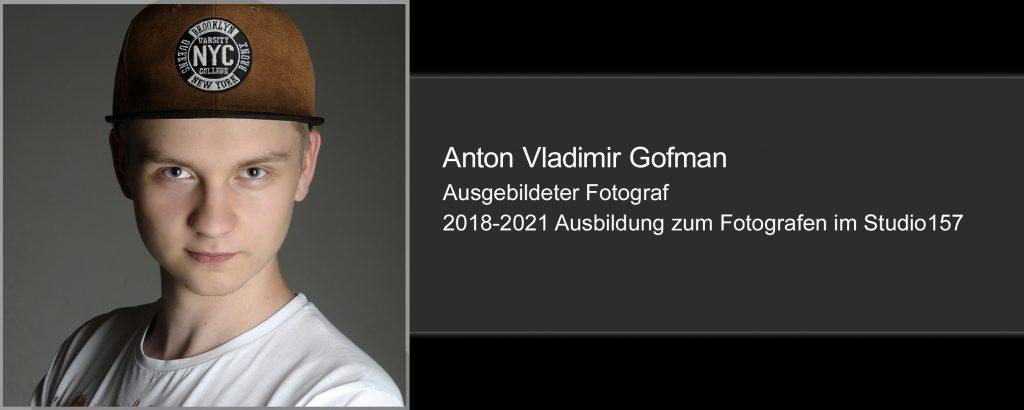 Anton Vladimir Gofman, Fotograf
